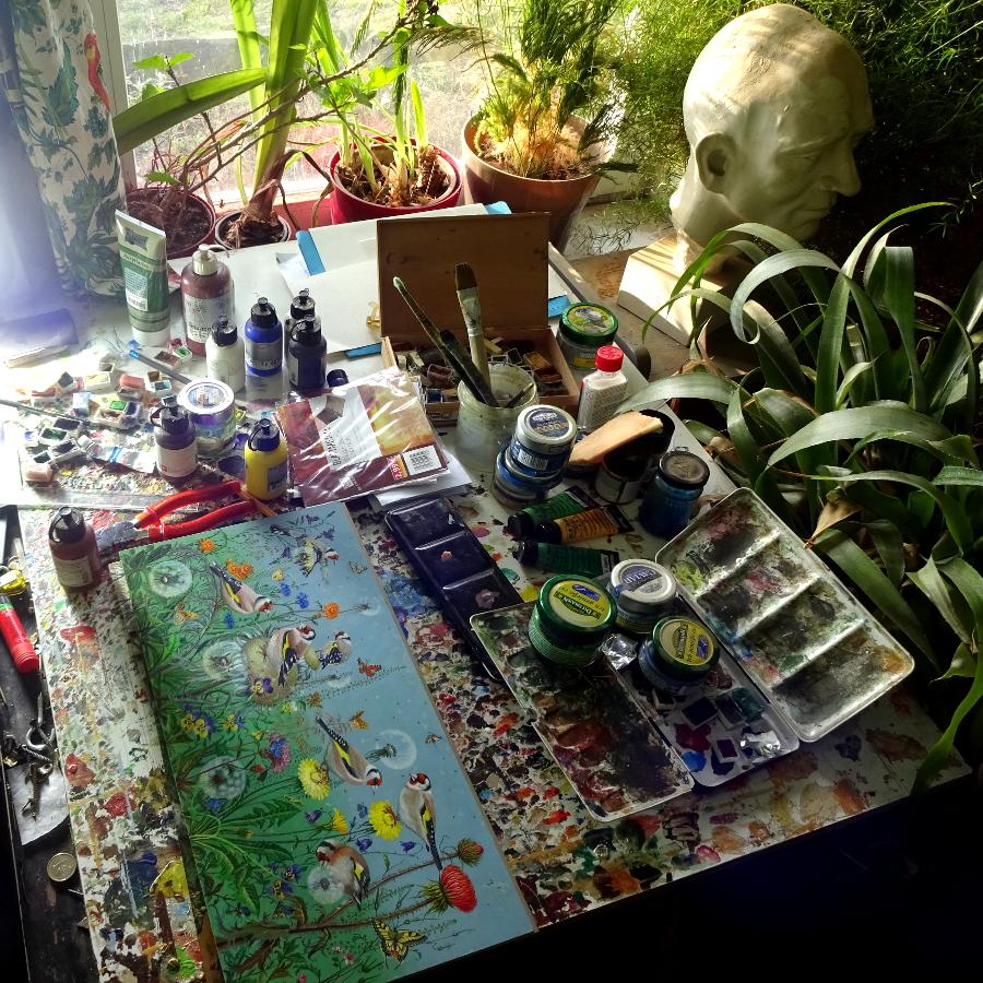 Zu Besuch beim Künstler Jesko Donst