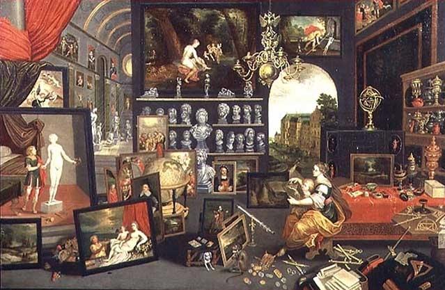Über Wunderkammern und andere Ausstellungsräume