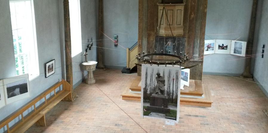 VERBUNDENE SPUREN eine Ausstellung von Carla Pohl und Doreen Trittel